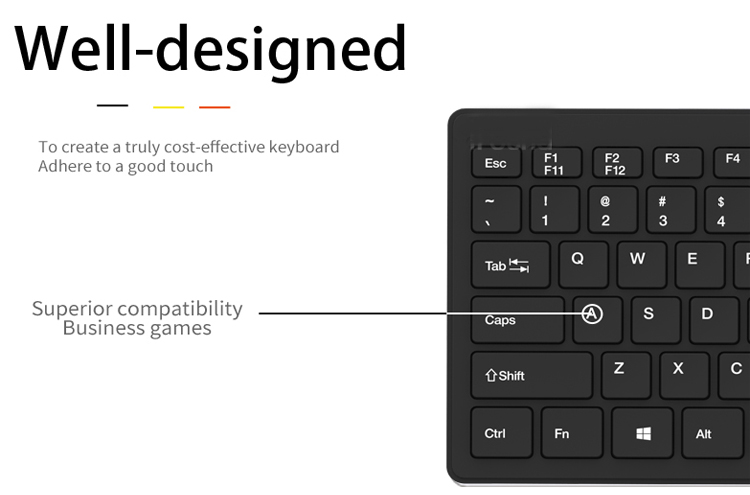 Good quality cheap price Wireless Keyboard And Mouse Combo Kit