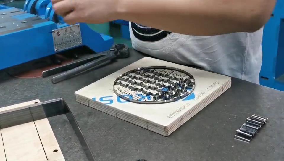 "Steel rule jigsaw puzzle die 11""x14""-154pcs  special SDESIGN"