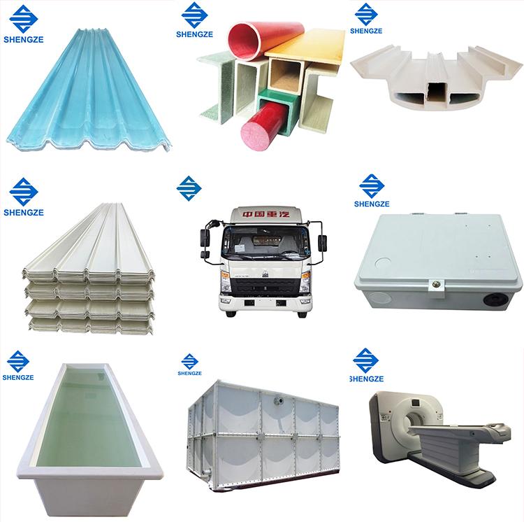 Haute qualité en fibre de verre résistant à la chaleur transparente feuille de toiture pour hangar
