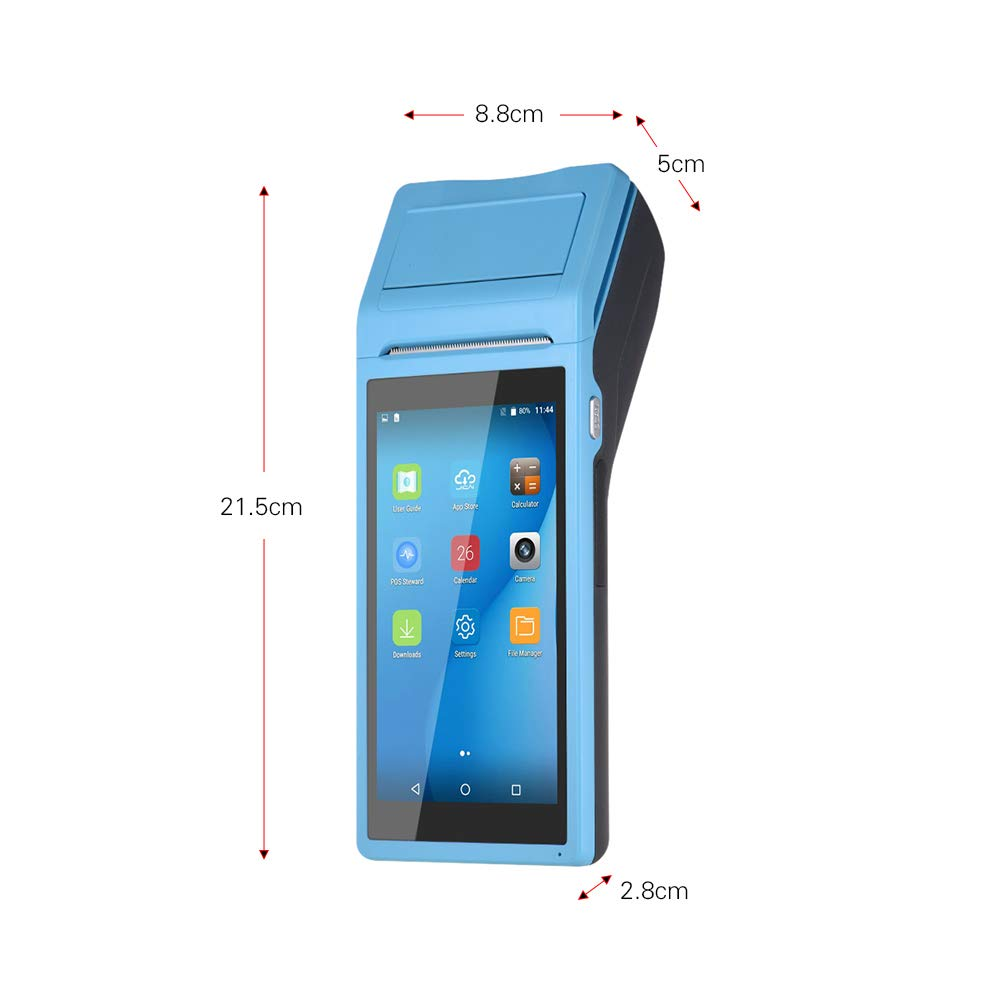 big memory handheld android pos terminal with printer replacement of Sunmi <strong>V1</strong>
