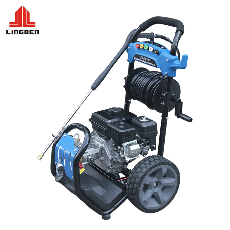 Lingben 180 Bar 2600 PSI New Powerful High Pressure Washer For Car Cleaning