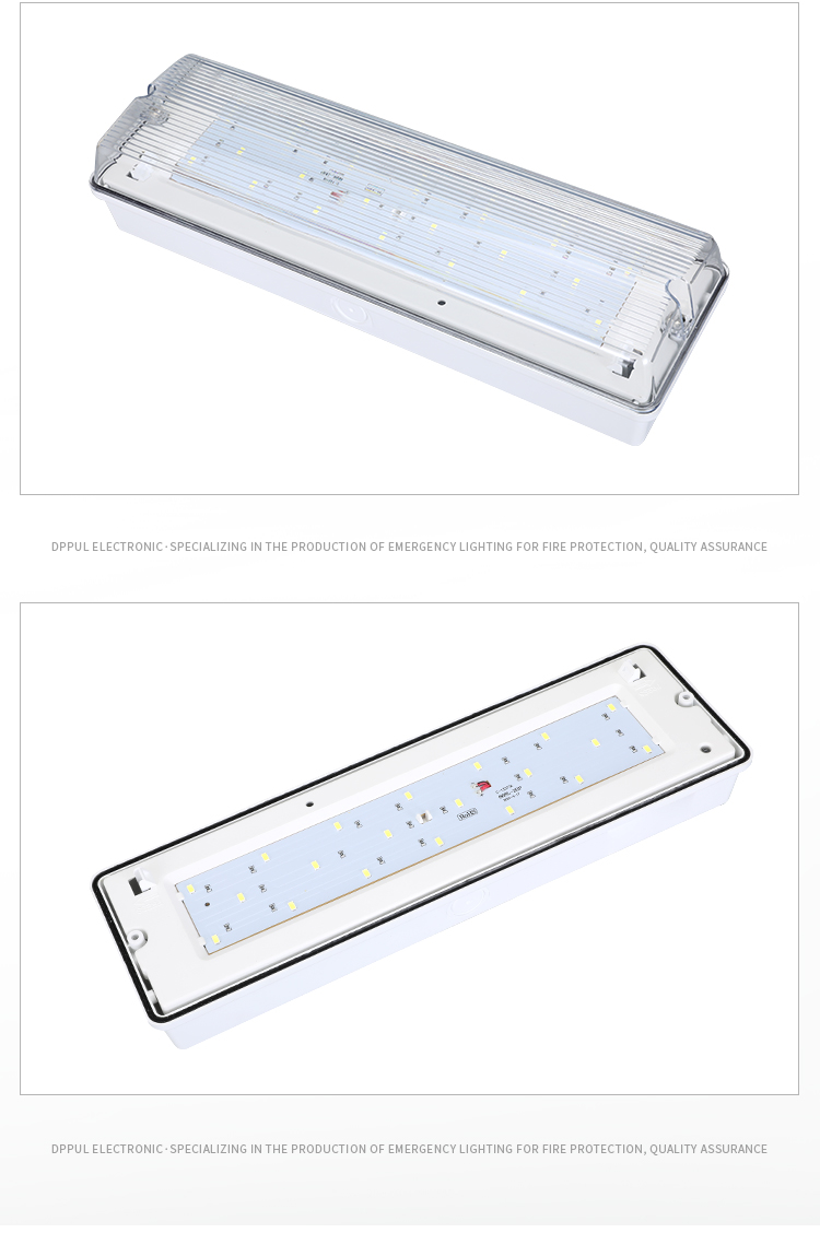 Factory direct sale IP65 waterproof Emergency bulkhead led lighting fixture