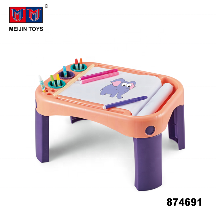 plastic drawing table toys kids painting board for wholesale