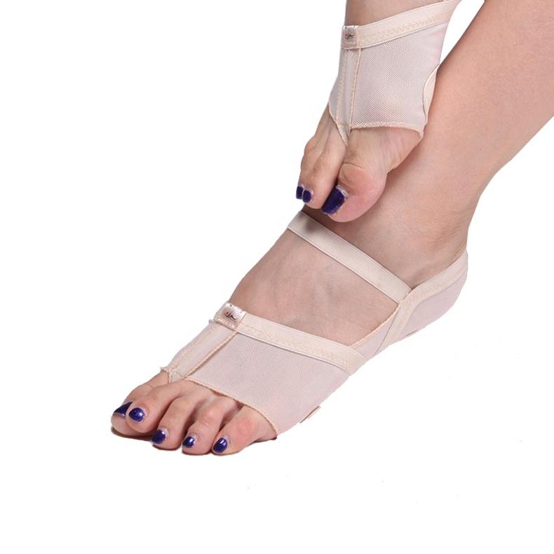 Jieruiya Belly Dance Practice Point Toe Shoes Ballerina Shoes