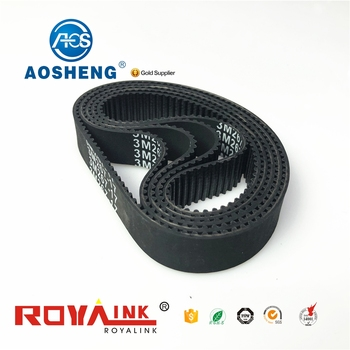 ring at5 endless belts fine steel wire rope for timing belt bando tn15