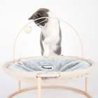 Comfortable Breathable Cat Hammock Sleeping Playing Hanging Pet Bed With Catnip toy