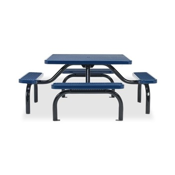Arlau picnic table and bench steel garden outdoor patio benches