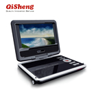 High quality 7 inch Portable dvd player with usb portable MP4 player