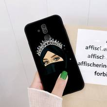 Yinuoda мультяшный хиджаб Эстетическая мусульманская девушка ilham malah чехол для телефона для huawei mate 10 20 Lite 20X mate 20 10 Pro mate 9 Nova3 3i(Китай)
