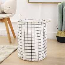 Grand Rangement Rond Coton Pliable <span class=keywords><strong>Panier</strong></span> <span class=keywords><strong>À</strong></span> <span class=keywords><strong>Linge</strong></span>
