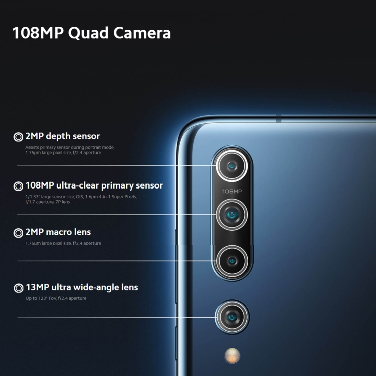 PRESALES Version Xiaomi Mi 10 MIUI 11 Android 10 Q 100MP Camera Dual GPS Wireless Charging 5G Smartphone mi mobile phones