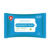 Alcohol Antibacterial Wet Wipes