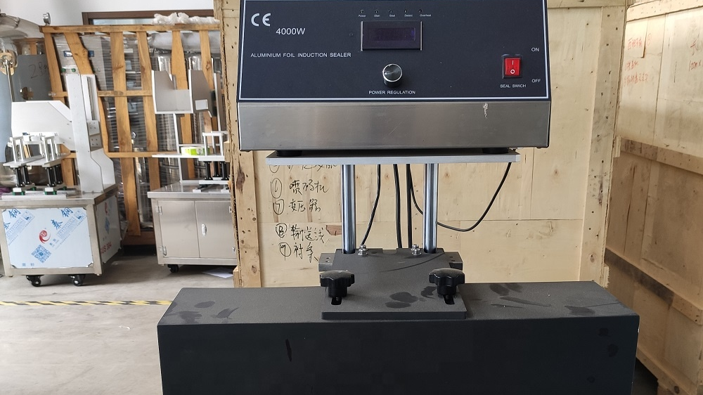 induction aluminum foil sealing machine for bottles,containers, cans