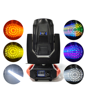 Hoge helderheid super 17R 350w sharpy beam moving head licht voor disco party
