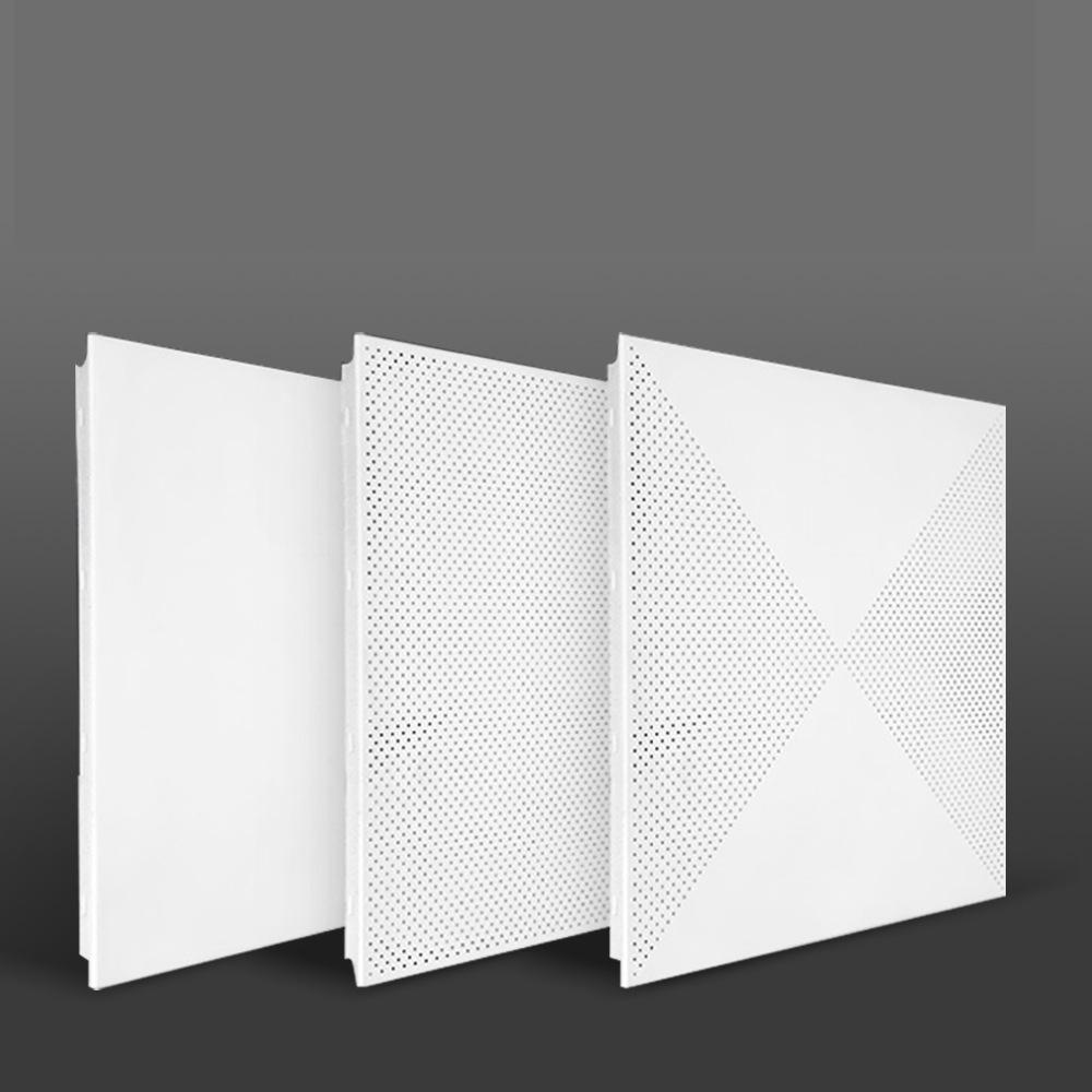 1x4 di metallo ondulato sospeso soffitto a specchio piastrelle pannelli