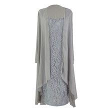 BGW 2261ht милое кружевное шифоновое прямое платье для матери невесты, два предмета, пять цветов, свадебное платье для мамы, 2020(Китай)