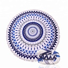 Mandala Towel Dropship Digital Printing Round Microfiber Beach Towels