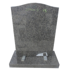 Granite upright headstone and cheap American style polished tombstone
