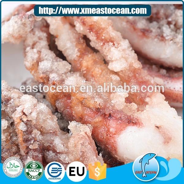 Cina le vendite calde Giapponese cibo fritto congelato farina calamari taglio