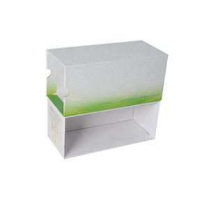 Hot selling custom Solution Contact Lens Packaging Box paper folding box