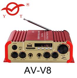 Home theatre mini class d karaoke subwoofer bluetooth audio power amplifier