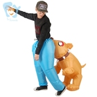 Unisex Adults Funny Halloween Inflatable Crocodile/Dog Bite Man Costumes