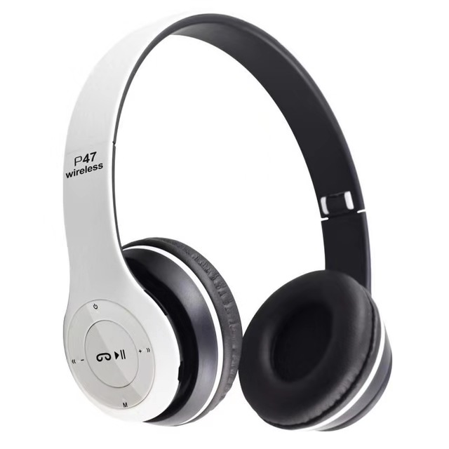 P47 Tren Stereo Headset Nirkabel Maskapai Headset