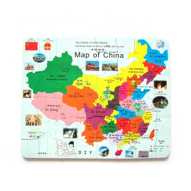 map of china for kids Hot Selling Kids China Map Magnetic Jigsaw Puzzle Games Buy map of china for kids
