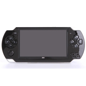 Handheld Game Console 32bit 8GB 4.3Inch HD MP5  Game Console x6 FC Portable Handheld Game Player