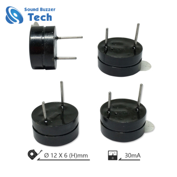 High quality small magnetic buzzer 3v 12mm door alarm buzzer