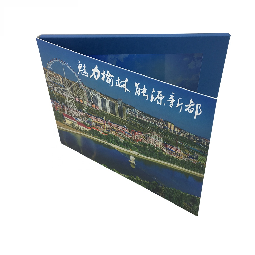 Cote Lcd video greeting card/ video mailer/ video brochure
