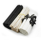 Polyester Black Fibre Reed Stick Wholesale Black Aromatherapy Synthetic Polyester Rattan Material Fiber Sticks Reed