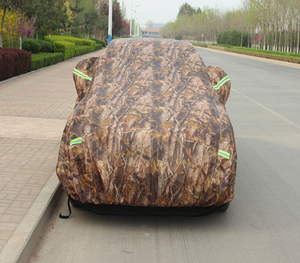 China Manufacturer UV Protection 100% Waterproof Polyester Car Cover