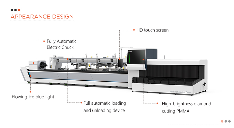 T230A 2020 automatic tube laser cutting machine from China Factory Price