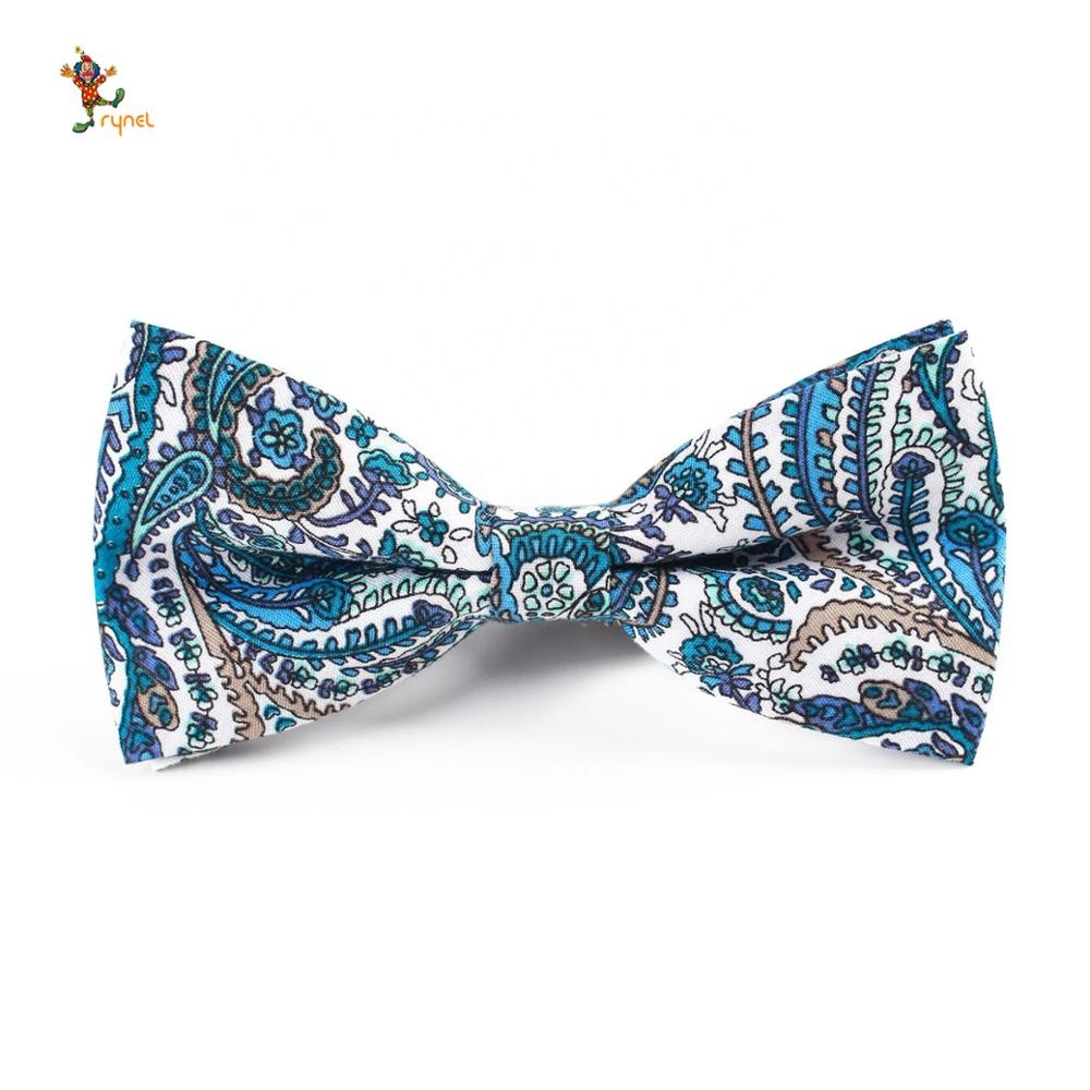 PGTE0644 Men cotton bow <strong>tie</strong> colorful <strong>flower</strong> wedding groom groomsmen casual bow <strong>tie</strong>
