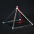 "SUCCESS Wholesale High Quality 3""-12"" Quartz Crystal Singing Pyramid For Sound Healing"