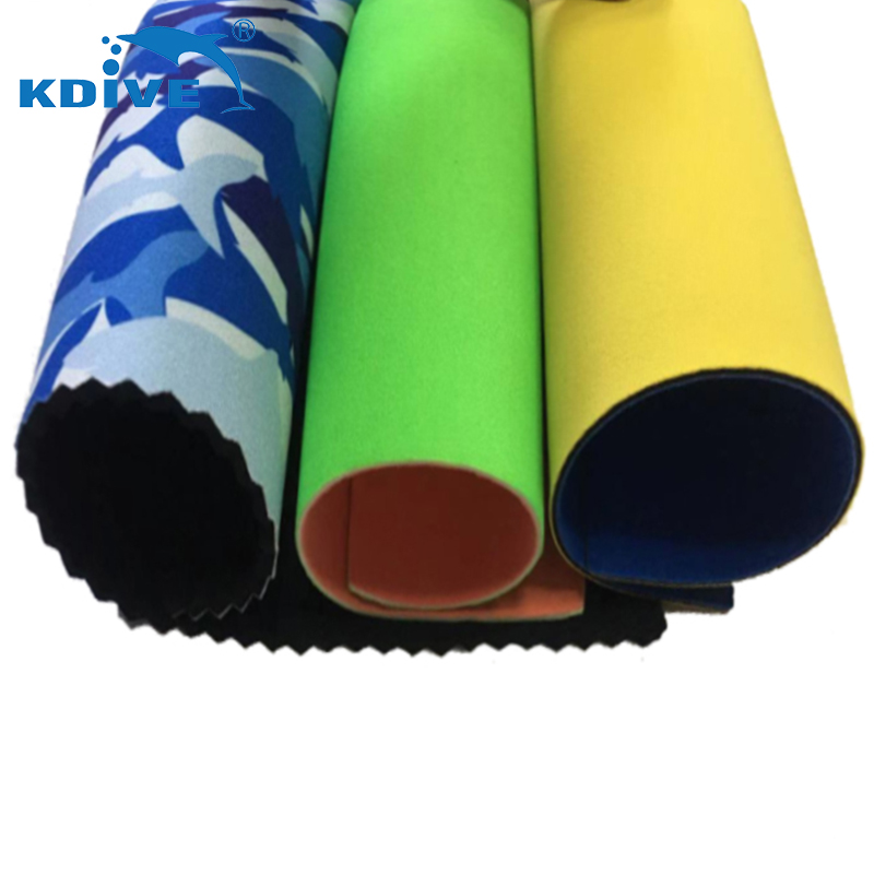 Wetsuit material recycled waterproof soft super stretch neoprene fabric