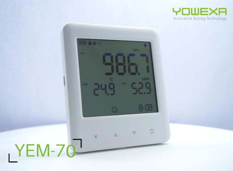 Druk + Temperatuur + Vochtigheid datalogger Luchtkwaliteit Monitor
