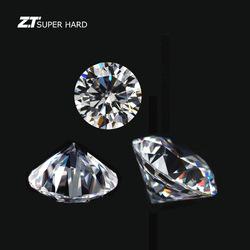 Gepolijst lab grown losse diamant fancy prinses vorm synthetische hpht man gemaakt cvd