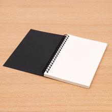 Ретро спиральная катушка Sketchbook крафт-бумага записная книжка эскиз живопись дневник студенческий Блокнот записная книжка блокнот(Китай)