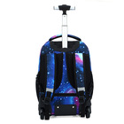 School High Twinkle Large Capacity Kids Oxford Nylon PU PVC Canvas Trolley School Bags Of High Quality