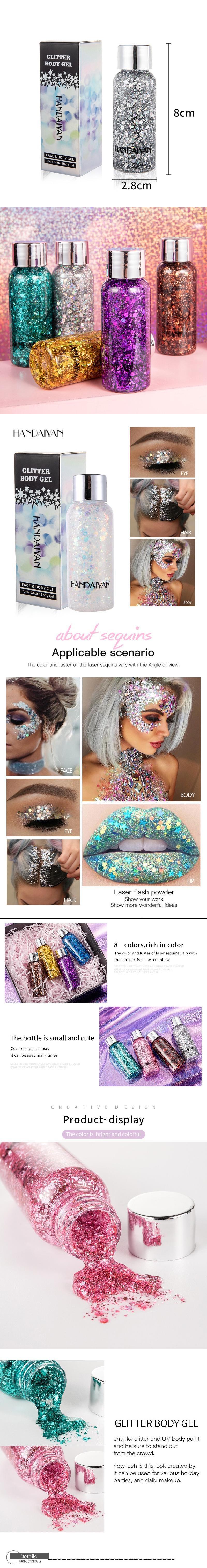 Long Lasting Metallic Liquid eyeshadow Private Label loose glitter eyeshadow cosmetic loose glitter eyeshadow