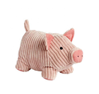 Top quality soft animal stuffed pink pig plush toy