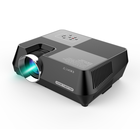 Home Cinema Cinema Projector S8 Portable LED Mini HD 2800 Lumens Star Light Projector USB VGA Memory Card Home Cinema Lamp Projector Phone Same Screen