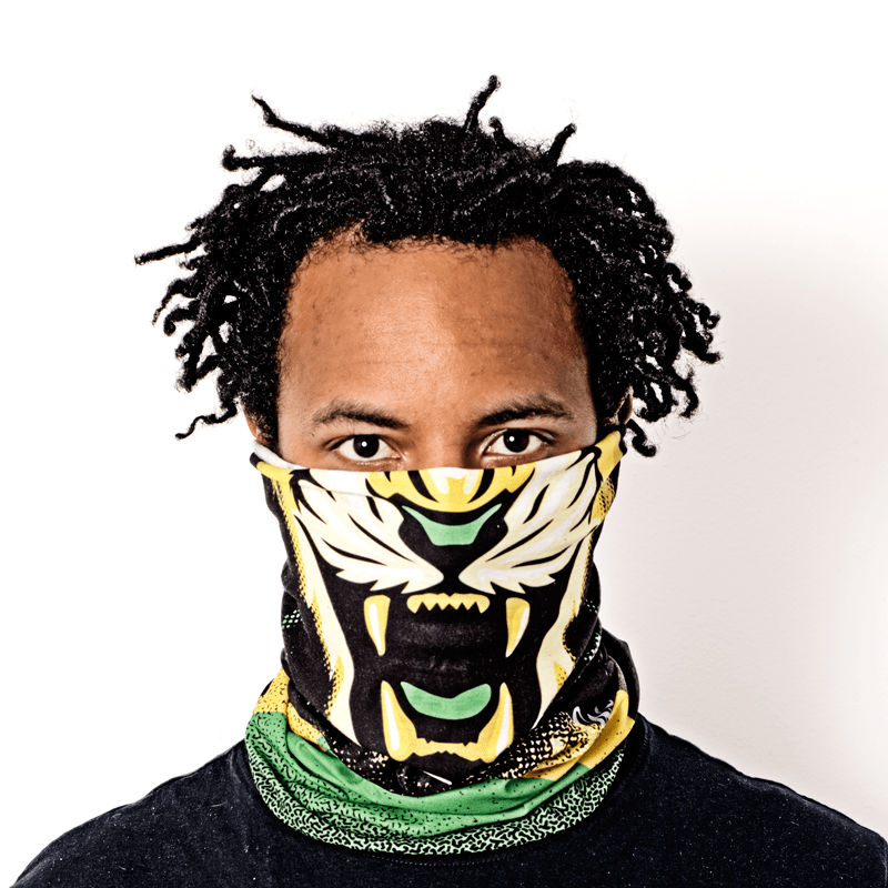 Face Tubo de fabricação Sob Encomenda sublimada multifuncional headwear bandana