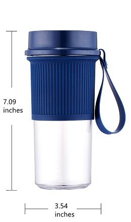 Tragbare Elektrische entsafter cup 300ml persönlichen mixer USB aufladbare obst entsafter extraktor hause verwenden mini mixer