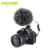 Hot Acemic CAM50 Interview Opname Microfoon Voor Premium Dslr Camera Mobiele Telefoon Video Mic Met 1/4 Schroef 3.5 Mm Jack