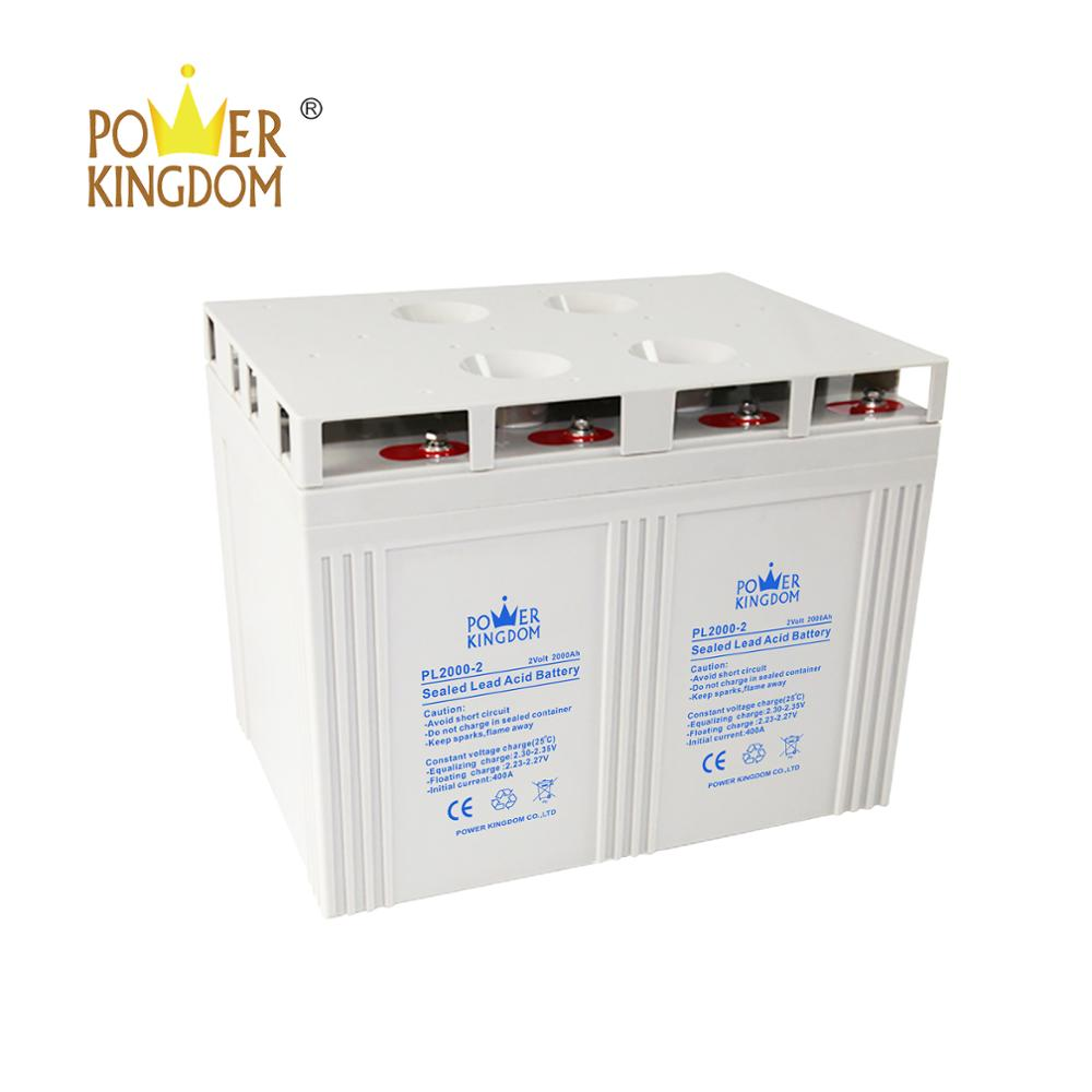 Power Kingdom 12 volt gel deep cycle battery for business solar and wind power system-1