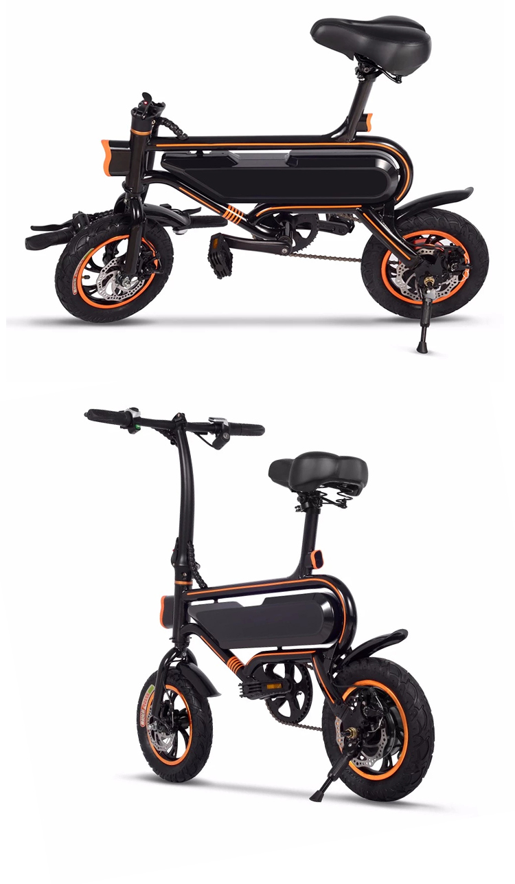 China Cheap 36V Lithium Lightweight Ebike Small Mini E Bike Folding Electric Bicycle For Adults