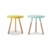 New design cheap modern furniture color round mdf board wood sofa table for sale